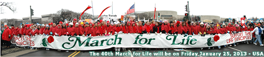 March for Life - Monday January 23, 2012 - USA - MarchForLife.org